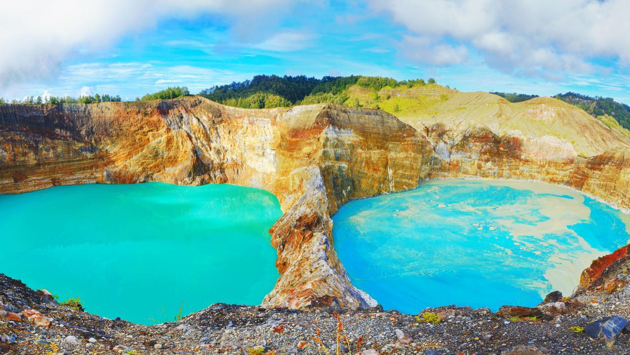 Mount Kelimutu, Indonesia