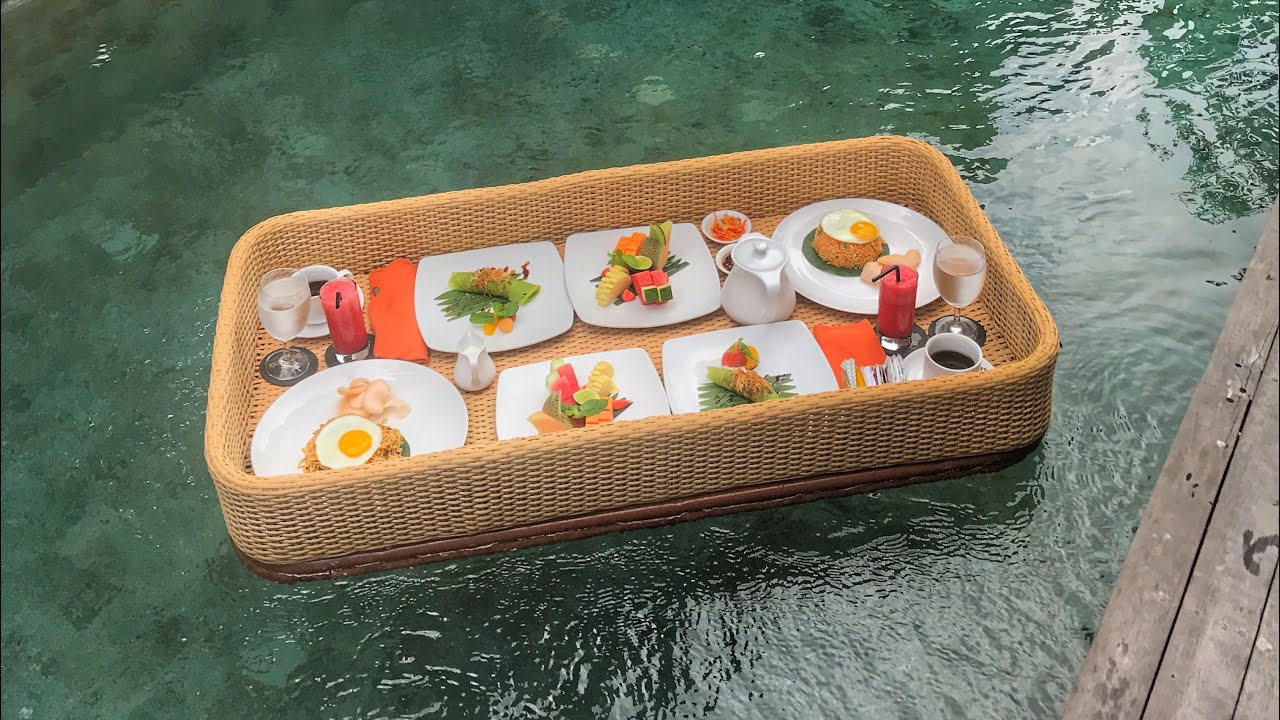 Eat brunch off a floating tray