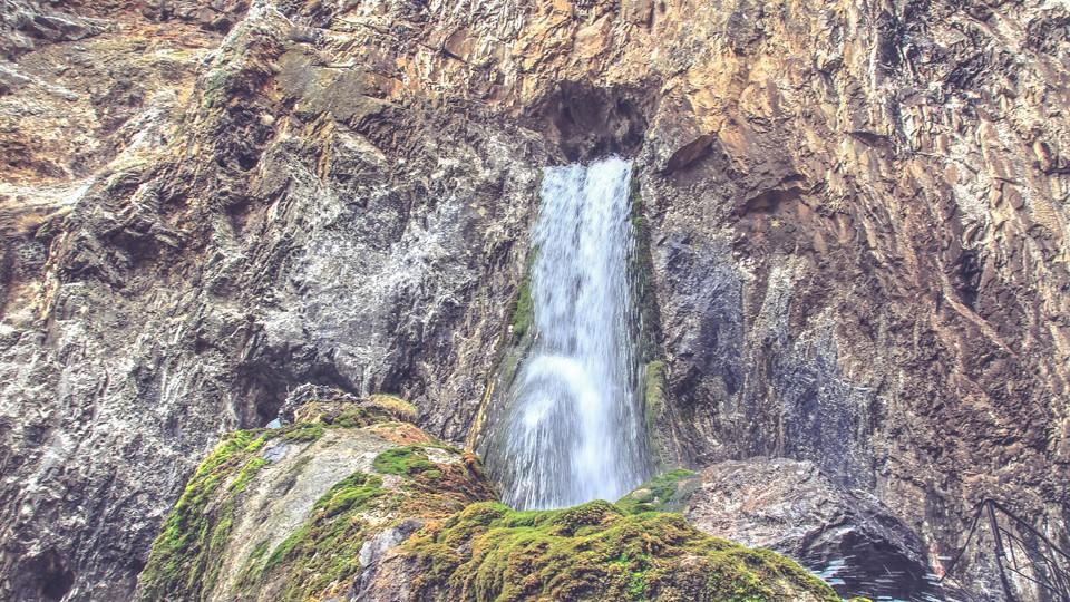 Abshyr Ata Waterfall