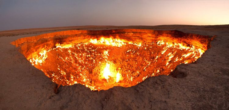 The Gates of Hell, Turkmenistan