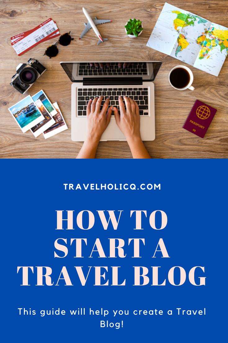 Start a Travel Blog Website