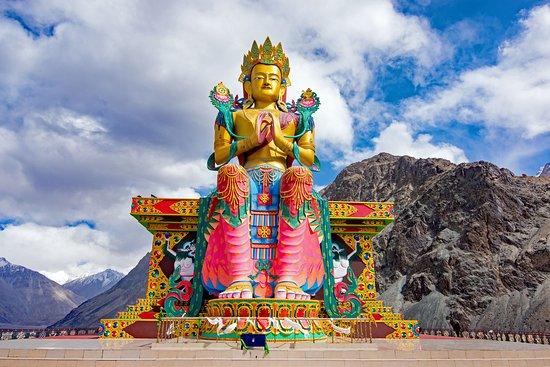 Maitreya Buddha Statue, Ladakh