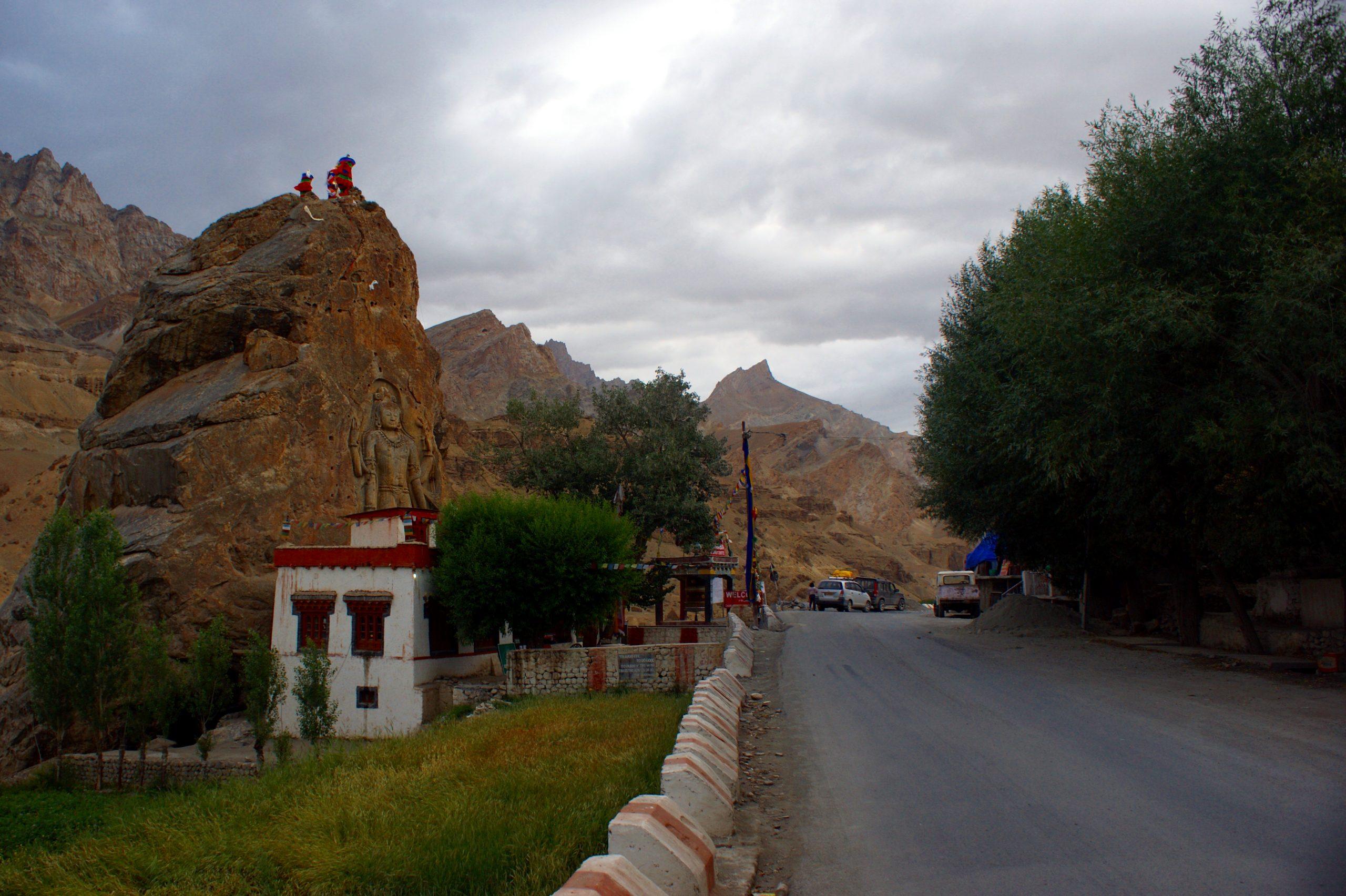 Mulbekh Monastery, Kargil
