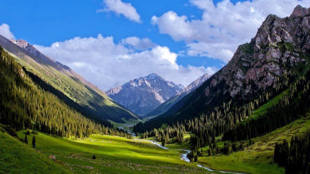Altyn-Arashan Thermal Resort, Kyrgyzstan