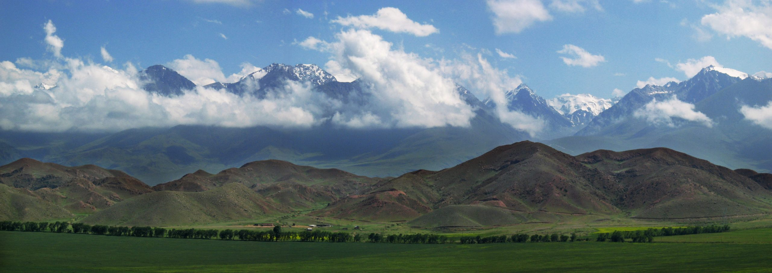 Sarychat-Eеrtash State Reserve, Kyrgyzstan