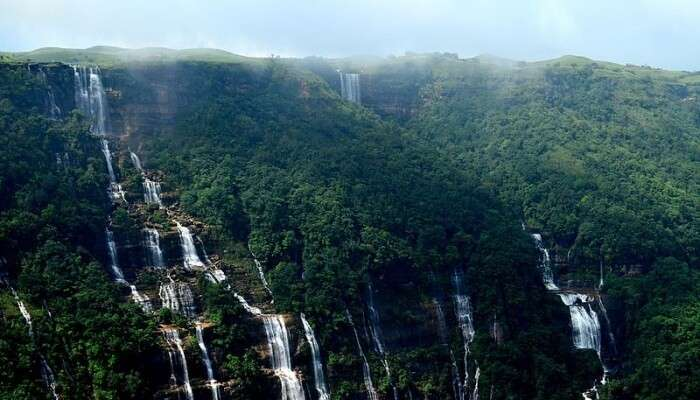 Seven Sisters Waterfall, Sikkim