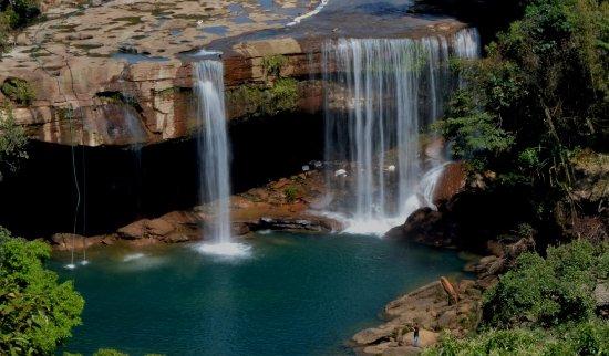 Krang Shuri Waterfalls, Meghalaya